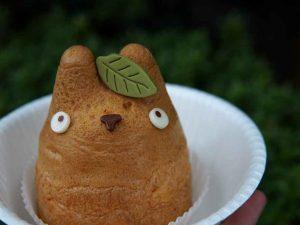 Cream Puff Totoro Lucu di Shiro-Hige Cream Puff Factory