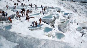 Kolam Air Panas di Pamukkale Turki