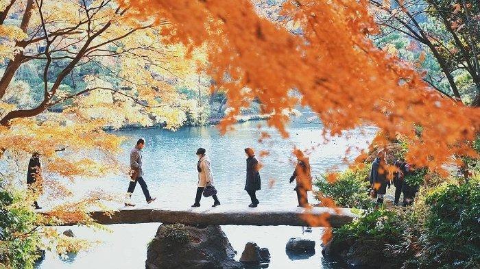Spot Instagramamble di Tokyo Jepang Untuk Nikmati Ketenangan di Lembah Todoroki