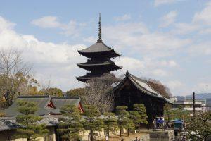 Kuil Toji serta Pagoda 5 Tingkatnya
