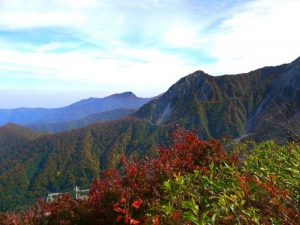 Pemandangan elok di Gunung Daisen