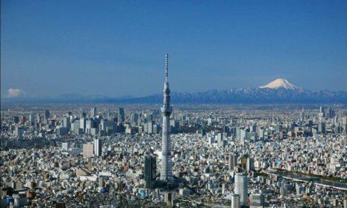 Pesona Pemandangan Di Menara Tokyo Sky Tree